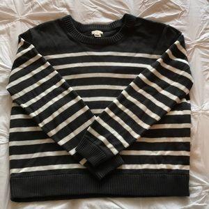 JCrew Striped Sweater